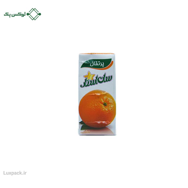 آبمیوه پرتقال سان استار ۲۰۰ میلی لیتری