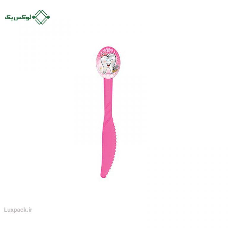 چاقو طرح دندونی دخترانه